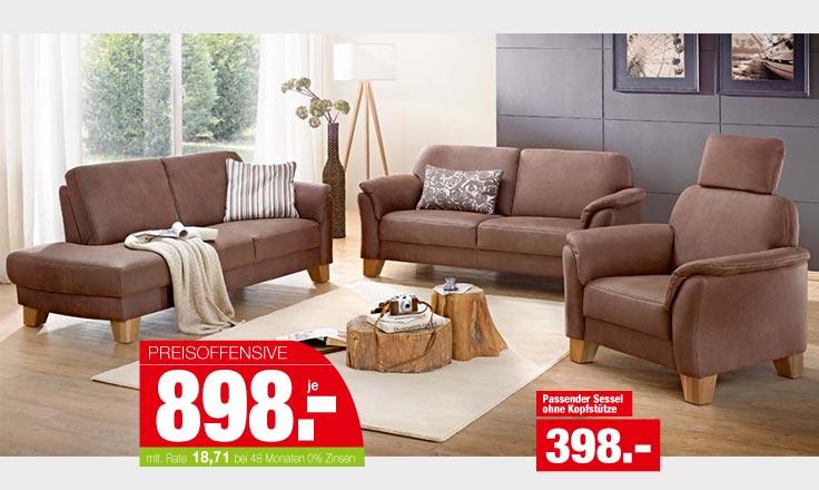 Elegante Sofagruppe