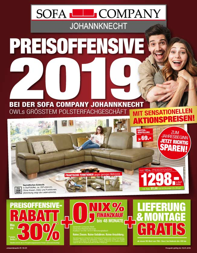 Preisoffensive 2019