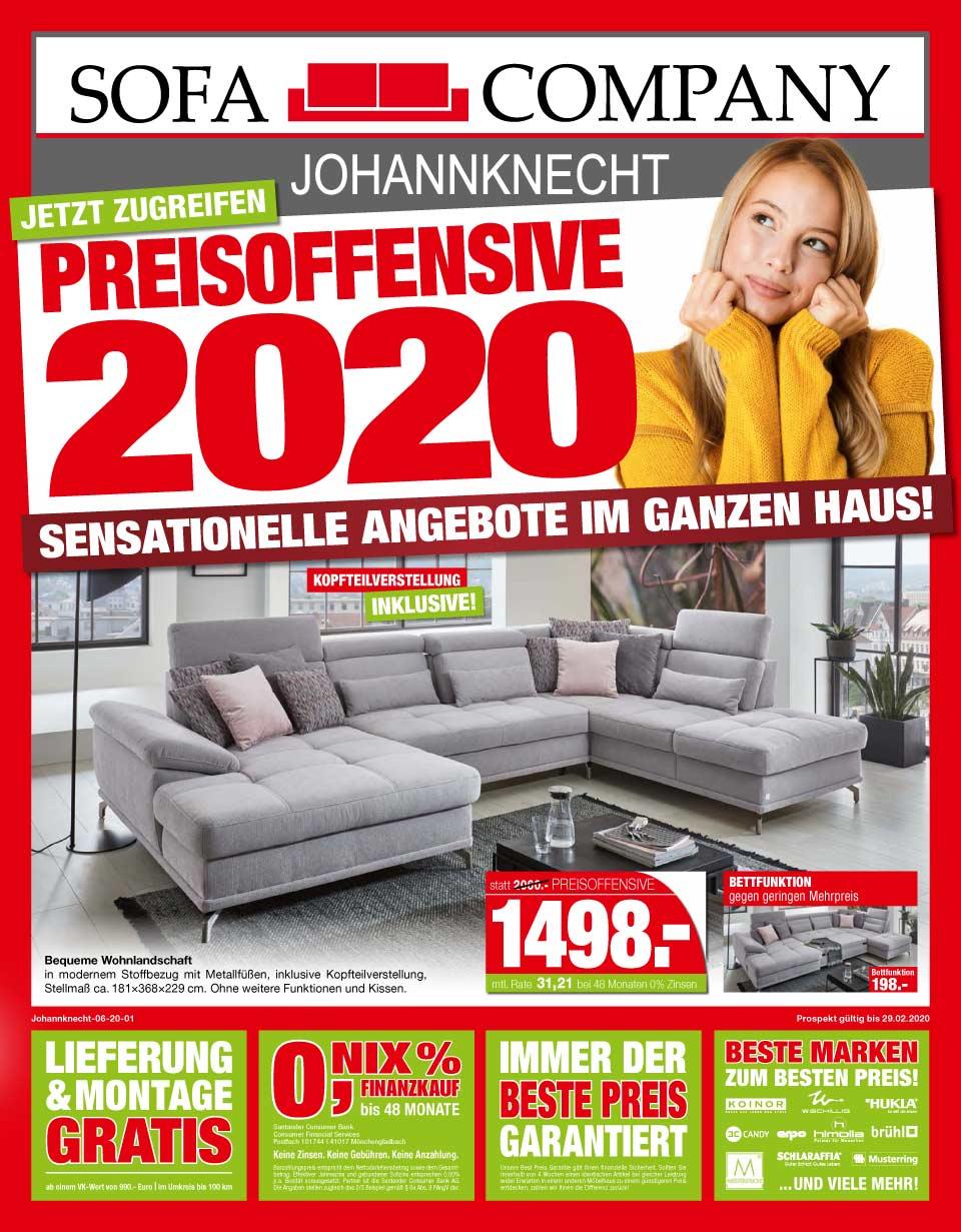 Preisoffensive 2020