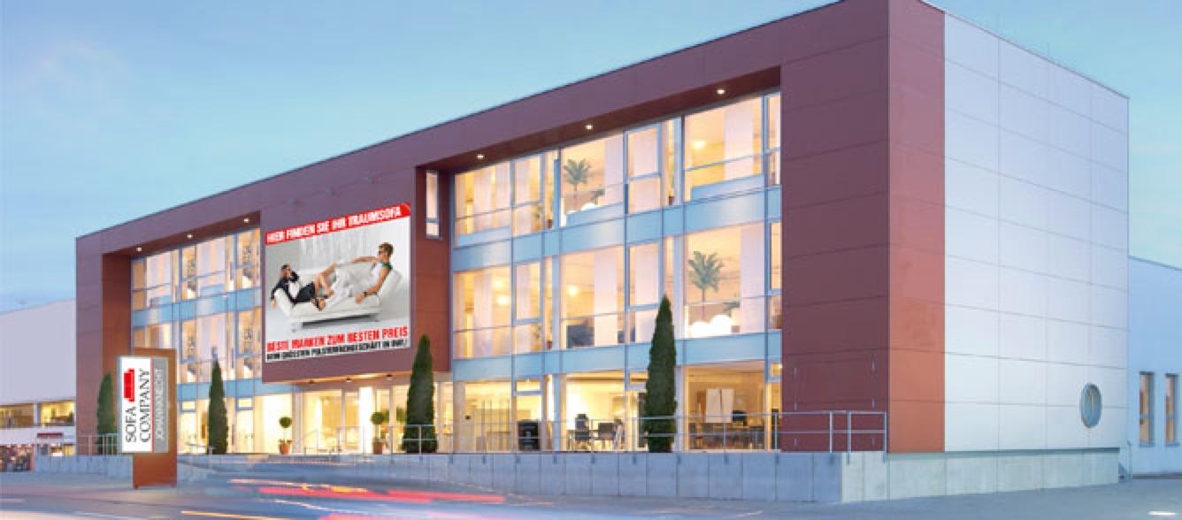 Aussenansicht Sofa Company in Paderborn